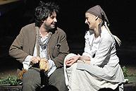 Petra Kurtela kao Janica Labudan u predstavi Braza