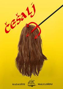 plakat predstave Češal Kazališta J.A.K. Mali Lošinj