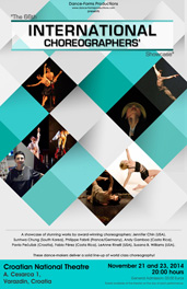 66. International Choreographers' Showcase, plakat