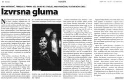 Kritika predstave Familija u prahu, Andrija Tunjić, Vijenac, br. 417, 25. veljače 2010.