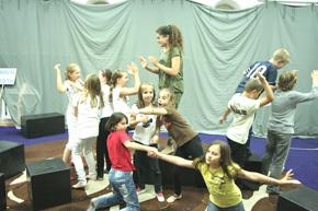 Kazališni studio mladih, fotografija s probe