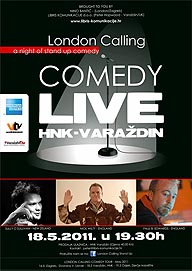 London Calling Comedy live