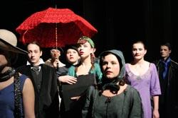 Slijepi putnici Skupine C2 Kazališnog studija mladih HNK u Varaždinu