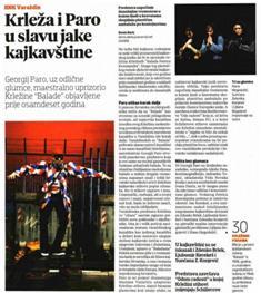 Balade Petrice Kerempuha Miroslava Krleže u režiji Georgija Para