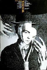 Plakat Gorana Merkaša za predstavu Woyzeck