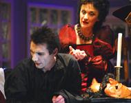 Carlo Goldoni MOLIERE, red. Ivica Boban; Marinko Prga (Moliere), Mirjana Sinožić (Bejartova); foto: Saša Novković