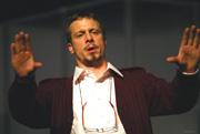 iro Gavran: NORA DANAS, redatelj: Georgij Paro; Kristijan Potočki (Toni /Glumac); foto: Saša Novković