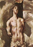 El Greco: Sv. Sebastian (1610-14). Museo del Prado (Madrid, Španjolska)